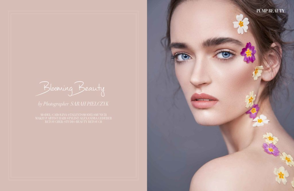 Blooming Beauty Flower Shooting