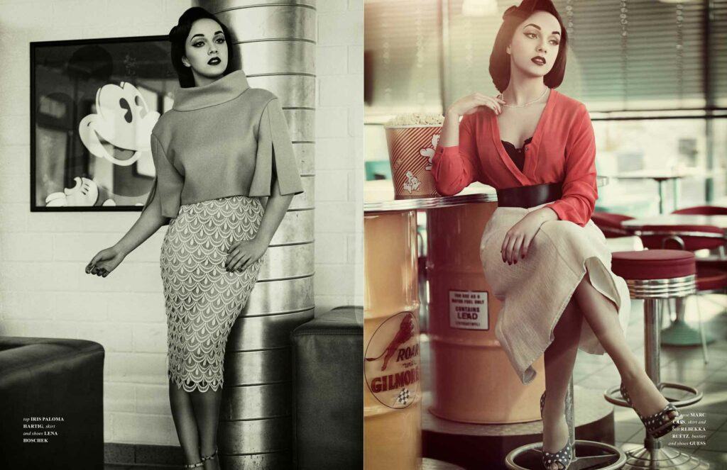 Fashion Editorial 50s Style
