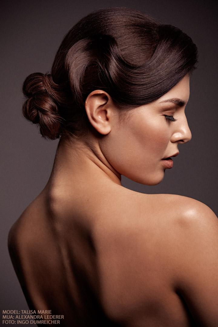 Talisa Wasserwelle Hair Editorial