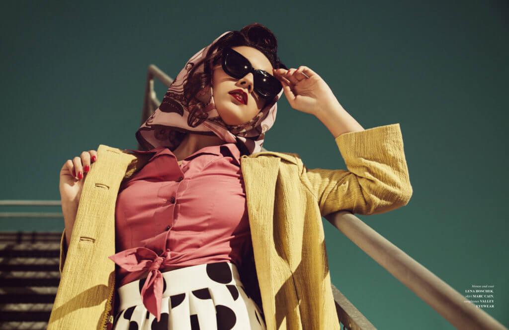 Joann 50s Fashion Editorial