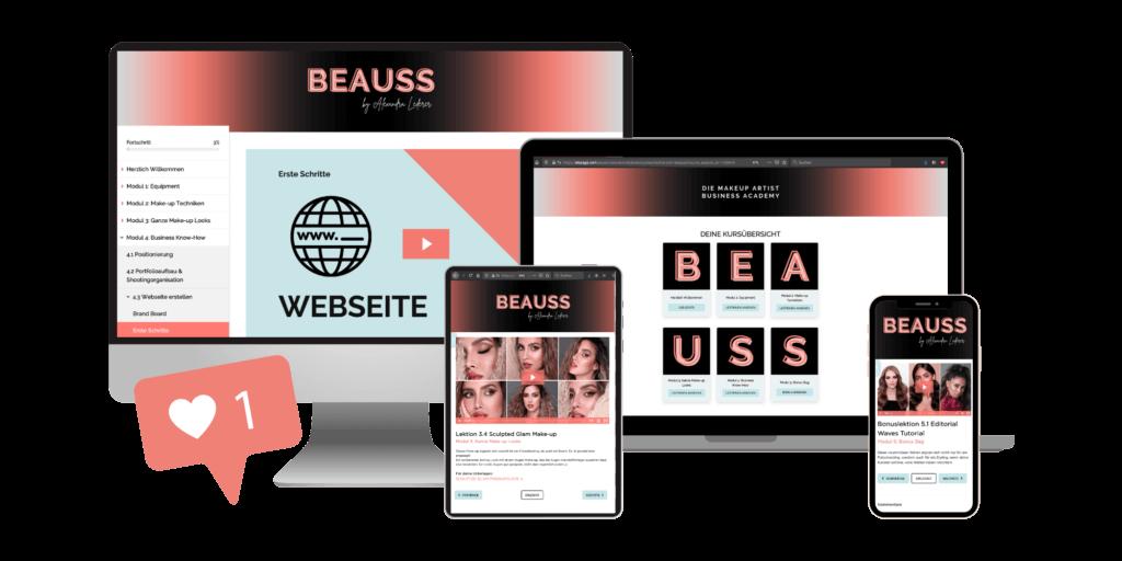 Online Visagist Ausbildung