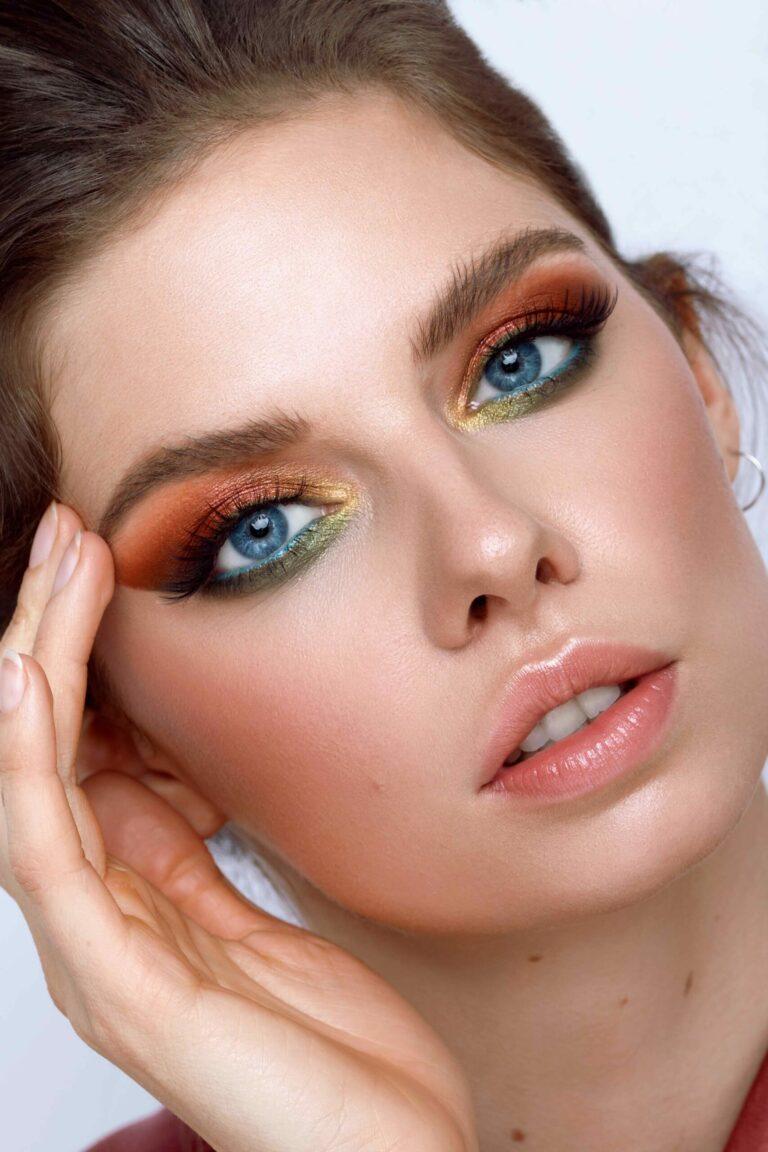 Online Make-up Kurs Look: Katrin Colour Makeup