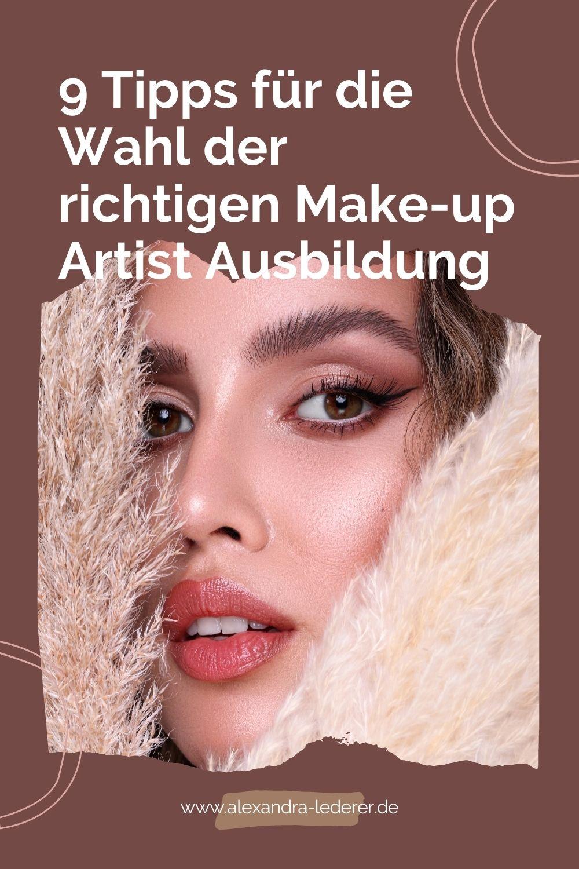 9 Tipps für die Make-up Artist Ausbildung