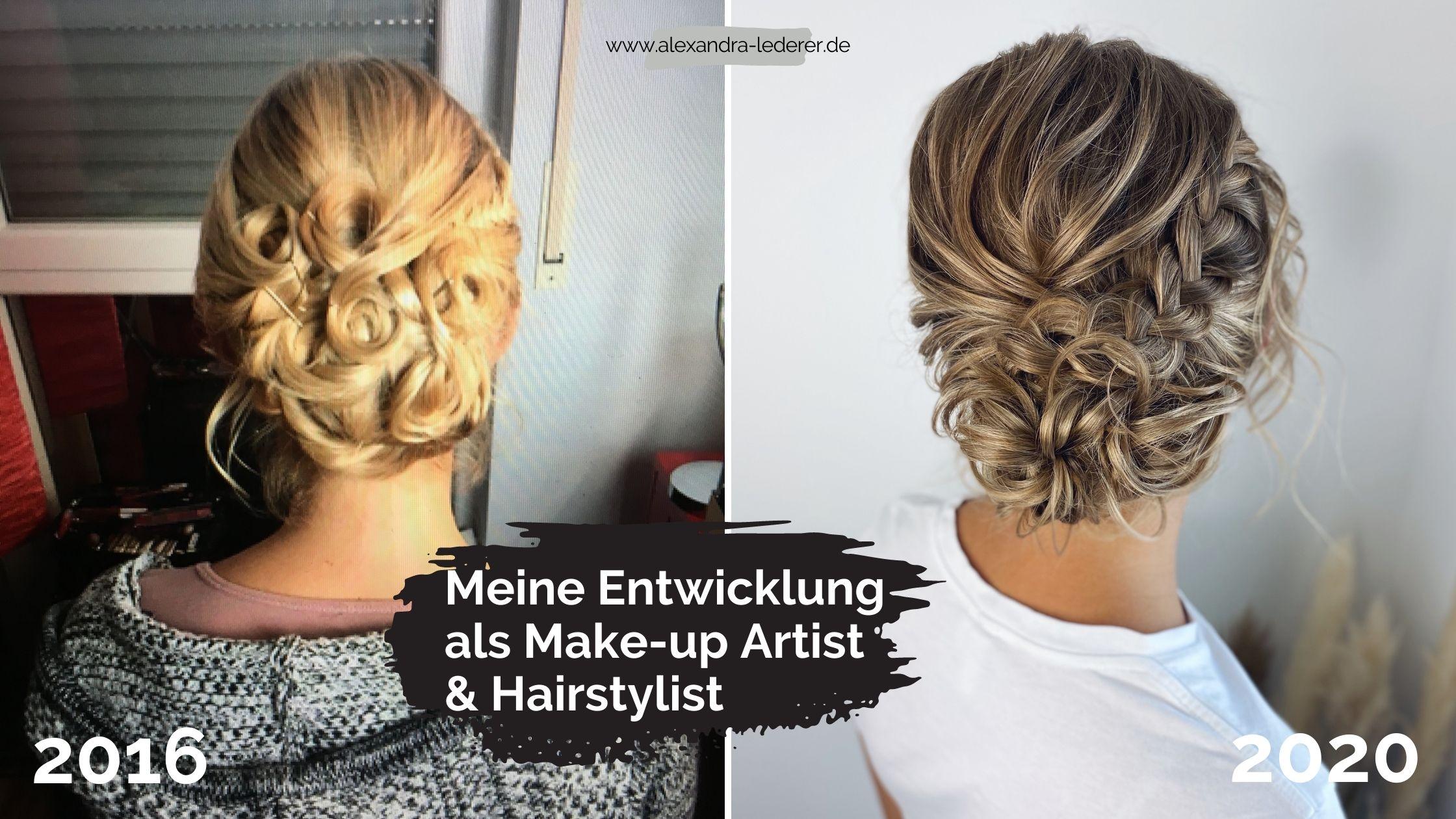 Meine Entwicklung als Make-up Artist