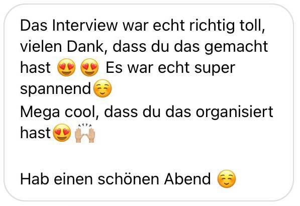 Feedback Interviews