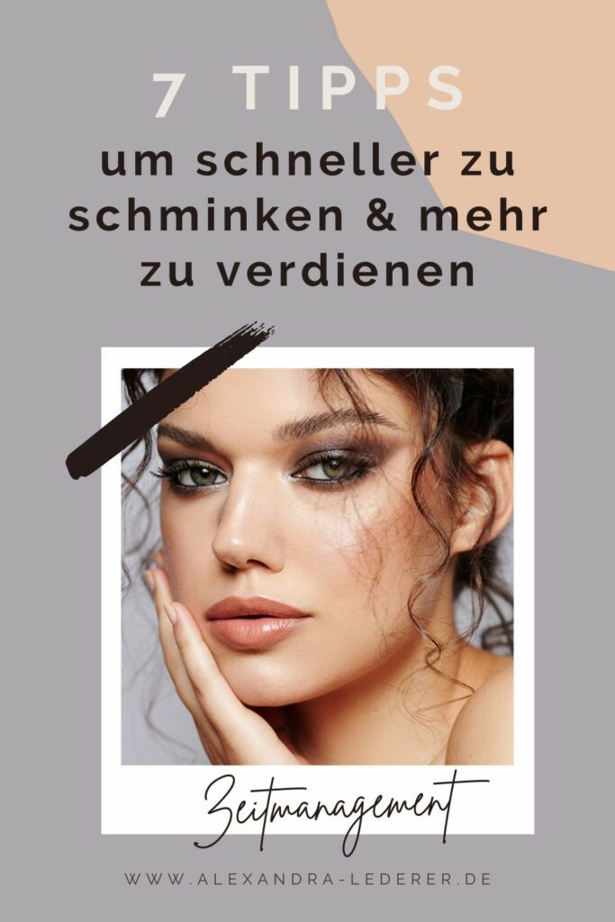 Schneller schminken Pinterest