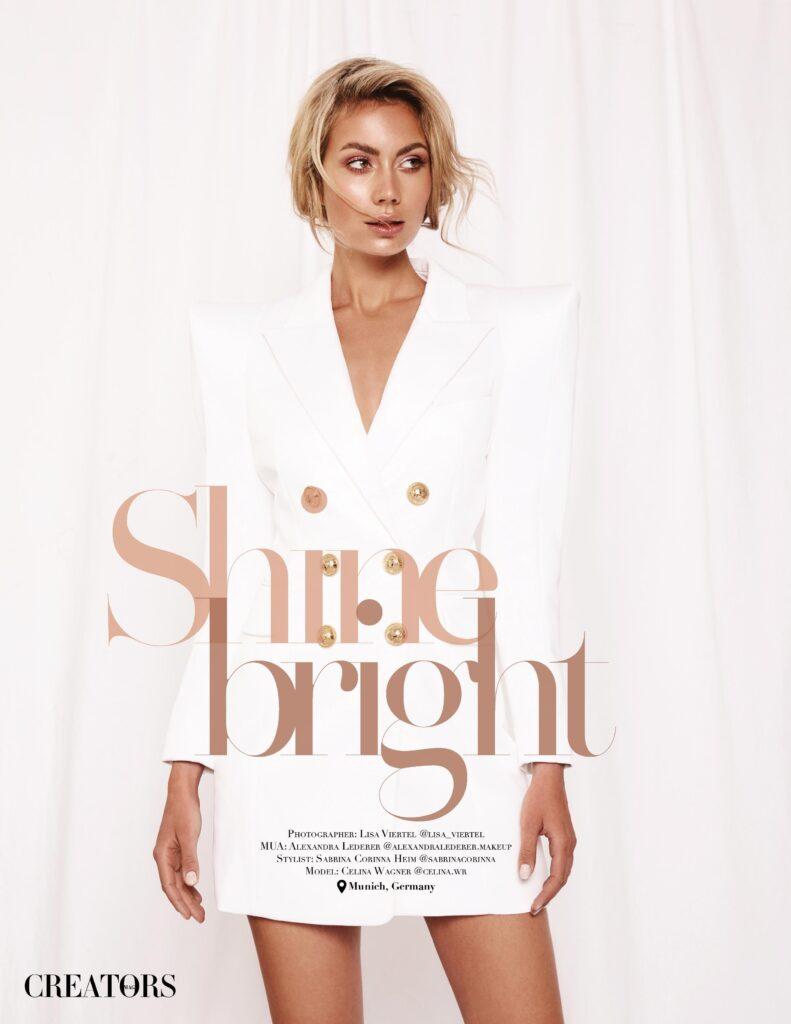 "Bridal Editorial ""Shine bright"""