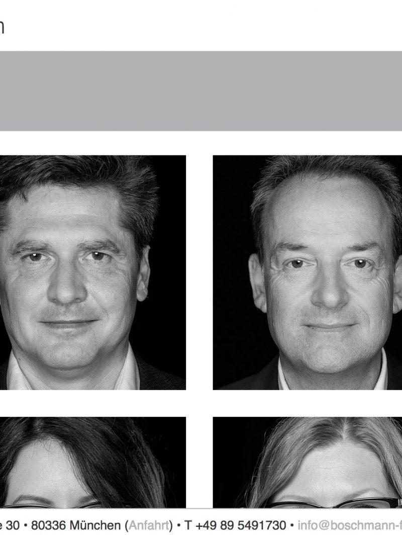 Boschmann + Feth Architekten Webseite Screenshot